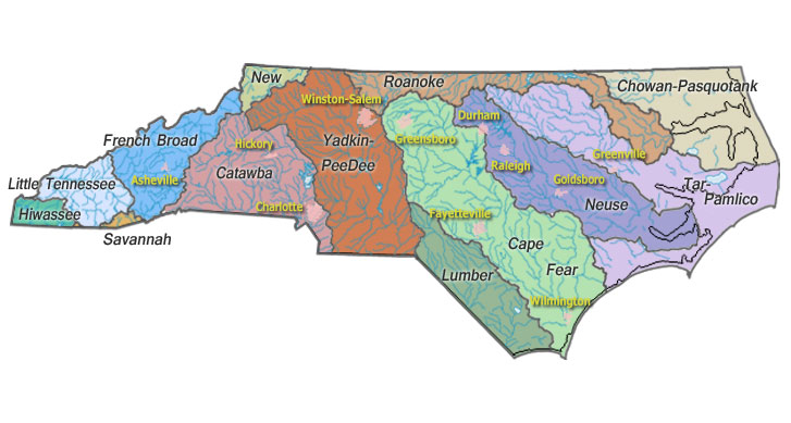 USGS Real-Time Water Data - North Carolina